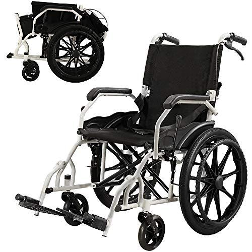 HHRen Multifunktionale Carbon Steel Rollstuhl SYIV100-RK-T01 Faltbare Handicapped Trolley Leichte tragbare Reise-Rollstuhl für ältere Menschen
