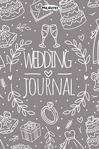 Hochzeitsplaner - Wedding Journal: Dein persönlicher Hochzeitsplaner | plane deine Hochzeitsdeko, Hochzeitskleid, Hochzeitskarte und mehr | Hochzeit ... Notizblock | Notizbuch (blanko Punkteraster)