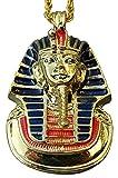 Schöner Anhänger Maske Goldene Tutanchamun Relief