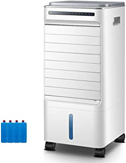 YWARX Aire Acondicionado portátil, Función Ventilador • Eficiencia energética Clase A • Bajo Consumo • Temporizador • 4 Niveles • Ruedas • Blanco,Mechanical