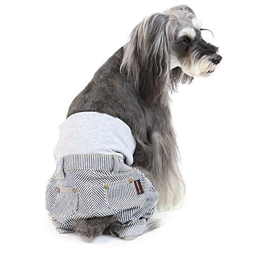 犬 服 春 ペットパラダイス ヒッコリー マナーパンツ 【S】