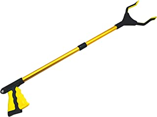 Grabber Reacher Tool for Elderly - Pickup Tool with 32 Foldable Long Handle,Extender Gripper Tool with Rotating Gripper,Lightweight Long Duty Mobility Aid