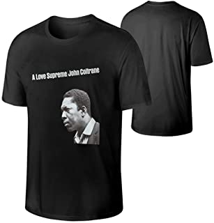 Mans Personality Music Band Anime Game Cartoon John Coltrane A Love Supreme Funny Cotton Tee Gift