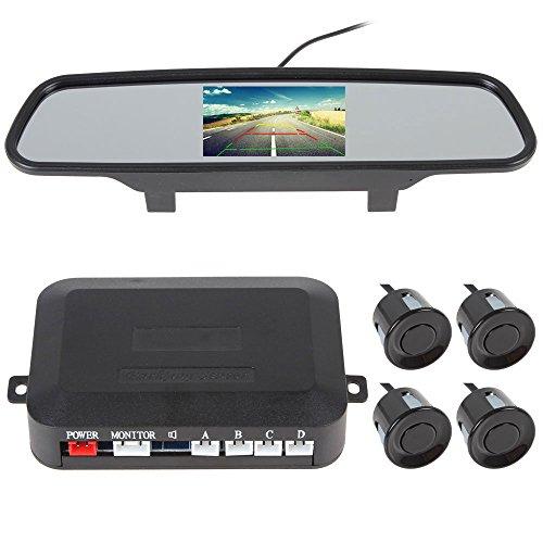 Sensore di parcheggio–Bangweier multifunzionale auto Premium retromarcia e sistema di parcheggio con sensori ad ultrasuoni e display a LED