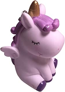 yuhiugre Llavero LED/ Buen Regalo para Navidad y Aniversario /Llavero Unicornio de Llavero con luz LED y Cuchillas