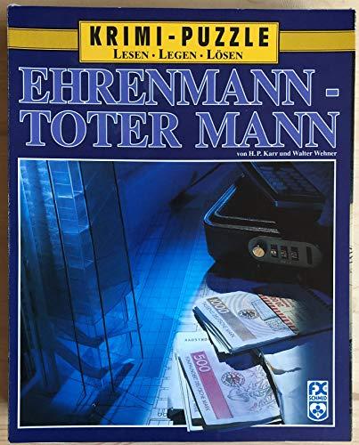 FX Schmid KRIMI - Puzzle Ehrenmann - Toter Mann