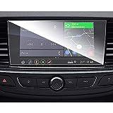 SHAOHAO Protector de pantalla para Opel Insignia GPS de 8 pulgadas, transparente, resistente a los arañazos 9H antihuellas
