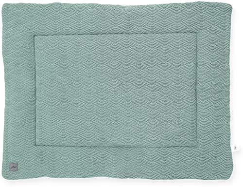 Jollein Krabbeldecke Laufgittereinlage 80x100 cm River knit ash green