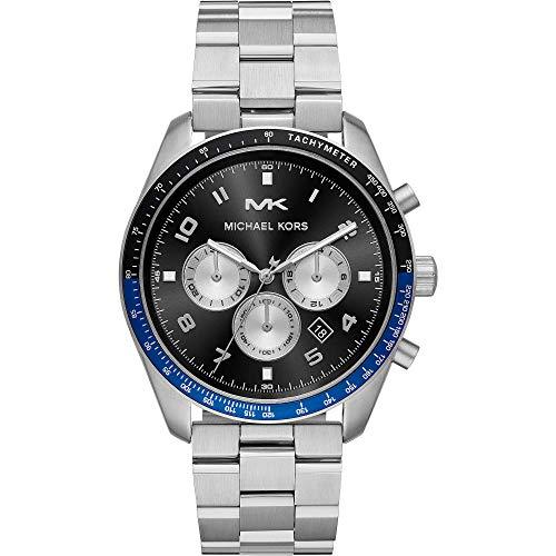 MICHAEL KORS Orologio Cronografo Quarzo Unisex Adulto con Cinturino in Acciaio Inox MK8682