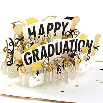 Hallmark Signature Paper Wonder Pop Up Graduation Card  Happy Graduation