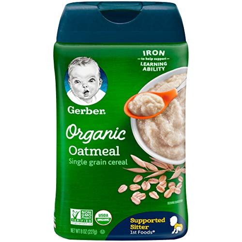 Gerber Baby Cereal, 1st Foods, Oatmeal, Pack - 1
