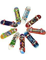 MEYENG 1-100PCS Patinetas Dedo, Juguete Monopatín, Skateboard Fingerboard Juegos De Deportes Niños, Regalos, Recompensas por Lecciones Escolares (Color Aleatorio)