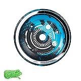 GoolRC MagicYoyo T7 Responsive Yoyos para niños Yoyo Principiante con rodamiento Estrecho Eje de Acero Aleación de Aluminio Cuerpo Looping Play