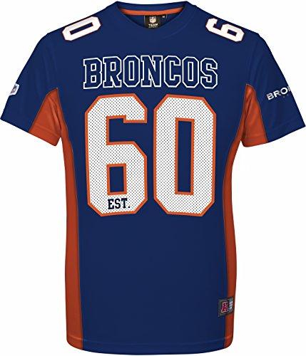 Majestic NFL Football Trikot Jersey Shirt Denver Broncos 60 Navy Established (XS)