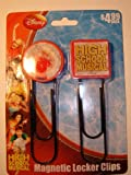 High School Musical Magnetic Locker Clips