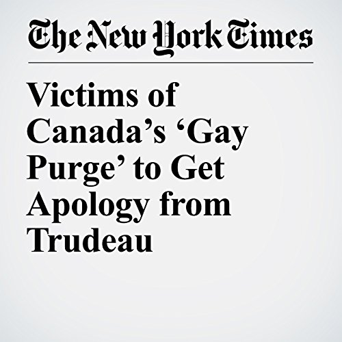 Victims of Canada's 'Gay Purge' to Get Apology from Trudeau copertina