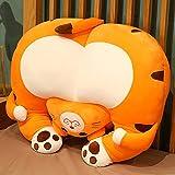 Peluche 1pc 35cm Animal Lindo Culo Almohada de Felpa muñeca Kawaii Suave Felpa Animal Cintura Juguete niños niña Regalos
