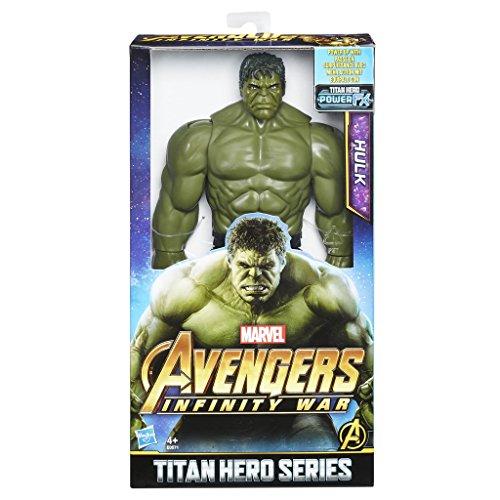 Avengers: Infinity War - Hulk Titan Hero Power FX (Personaggio 30cm, Action Figure), E0571EU4