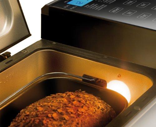 UNOLD Brotbackautomat Backmeister Top Edition, 615 W, 750-1200g Brotgewicht, Keramik-Beschichtung, 68415 - 3