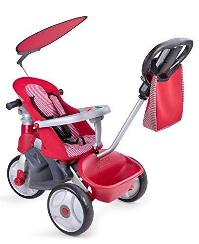 Feber 800009473- Baby Trike Easy Evolution, triciclo, rojo