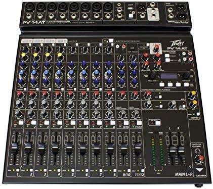 Top 10 Best peavey mixer amplifier