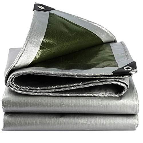 YCSD Lona Impermeable Hoja De Protección Cubierta A Prueba De Lluvia para El Jardín Al Aire Libre PE 180 G/M²(Size:3x4m)