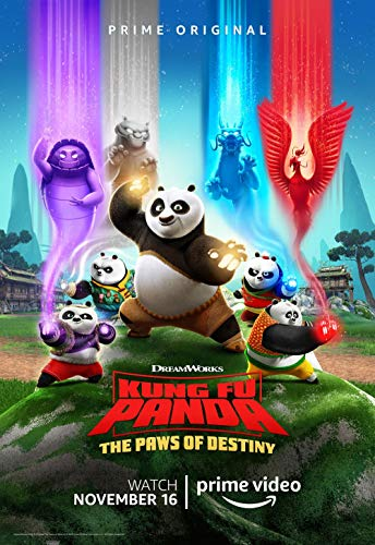 Poster Kung Fu Panda The Paws of Destiny Movie 70 X 45 cm