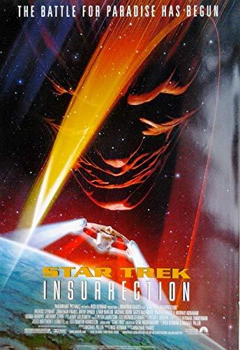 Star Trek IX - Der Aufstand - Insurrection (1998) | US Import Filmplakat, Poster [68 x 98 cm]