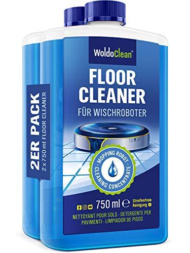 Limpiador de suelos para robots de limpieza - para todos los fabricantes   2x 750ml