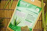 SVATV Aloe Vera Powder II Natural Skin Moisturizer II 227g, 8oz, 0.5lb