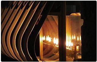 LESGAULEST Doormat Floor Rug/Mat (23.6 x 15.7 inch) - Chanukah Hanukah Candles Holiday Jewish Hanukkah