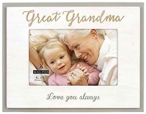 Malden International Designs Mother's Day 4X6 Grandma Laser
