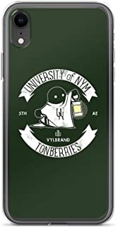 miguella University of Nym TONBERRIES | FFXIV Case Cover Compatible for iPhone (XR)