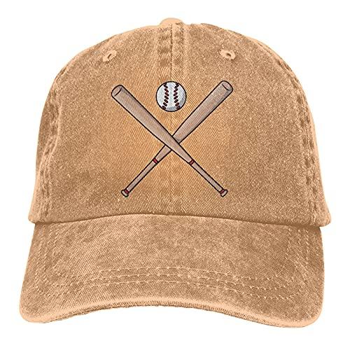 Baseballschläger Cartoon Sports Denim Cap Verstellbare Hysteresen Unisex Einfacher Baseball Cowboy Hut Klassischer Stil