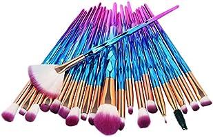 GreenLife® Makeup Brushes set 20pcs Unicorn eye Makeup Brush kit Premium Synthetic Face Eyes Eyeliner Foundation Brush...