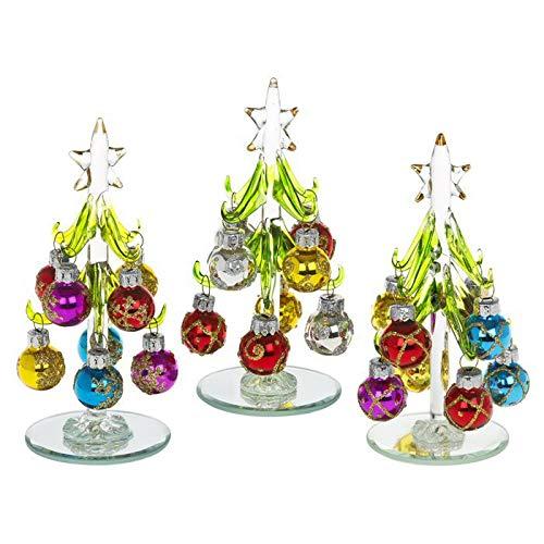 albero di Natale in vetro