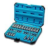 Capri Tools 30032 Master Hex Bit Socket Set, métrico e SAE, 32 peças