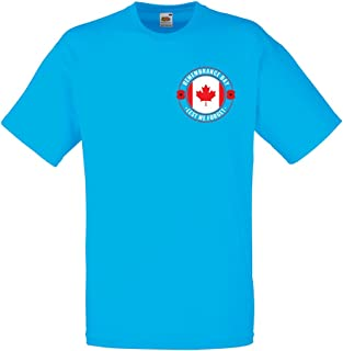 lepni.me Camisetas Hombre Remembrance Day Poppy - Quotes - Lest We Forget