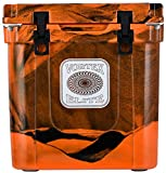 Elite Series 33-Quart Rotational-Molded Customizable Cooler System in Blaze Orange Camo