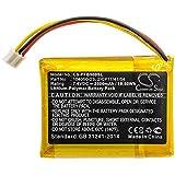 CS - Batería de polímero de litio (2500 mAh, 18,50 Wh, compatible con Philips Fidelio B5 B5/12, sustituye a Philips 104050-2S 2ICP11/41/54)