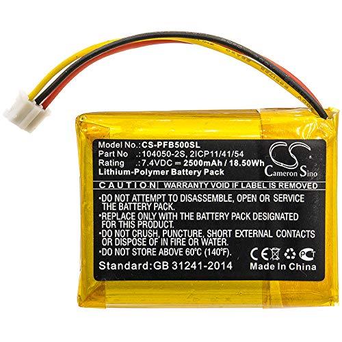 2500mAh Replacement Battery for Philips Fidelio B5, Philips B5/12