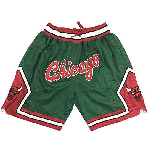 ZHAW Carolina del Norte Michael Jordan 23# Camiseta De Baloncesto para Hombre De Baloncesto, Malla Retro Transpirable Y De Secado Rápido De Fans De Baloncesto Chaleco Su Green Shorts-XL