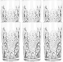Libbey - Hobstar - longdrinkglas, cocktailglas, waterglas, sapglas - 470 ml - glas - set van 6 - bekend van de coolste hot...