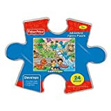 Fisher-Price Little People Adventure Jigsaw Puzzle Storage Container - School by Fisher-Price