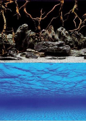 Wave Poster für Aquarium, Mystic, Höhe 60 cm, Meterware