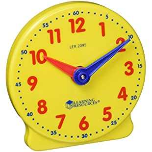 Customer reviews Learning Resources Big Time Student Learning Clock