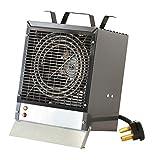DIMPLEX Fan-Forced Enclosed Motor Construction Space Heater, Model: EMC4240G, 240V, 4800W, Gray