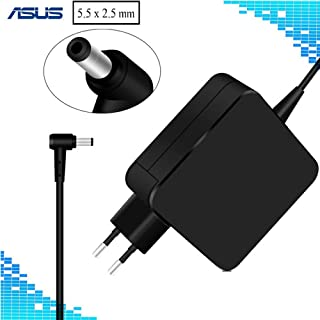 Topnma19V 3,42A 65W Cargador Portatil PC para ASUS X451M X551M F554LA F555L F551C F551M X54C X552C X554L X551C K50 K52F K53E A52F Fuente de alimentación ASUS ROG Swift PG278Q PG279Q Monitor Adaptador
