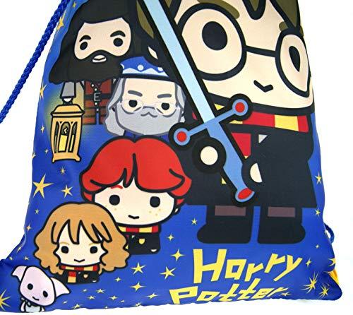 Harry-Potter-Drawstring-Gym-Bag-Cartoon-Style-Hogwarts-Kids-Trainer-Backpack