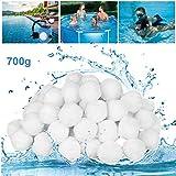 GothicBride Filter Balls Filterbälle für Pool, Schwimmbad, Filterpumpe, Aquarium Sandfilter. (700g)